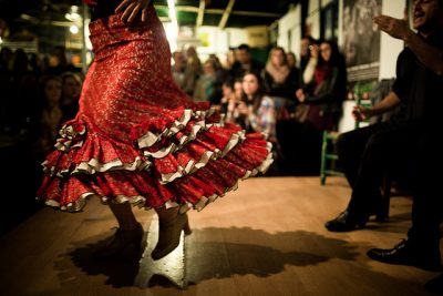 Espectáculo de flamenco en Sevilla
