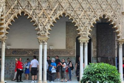 Alcazar of Seville guided tour in private