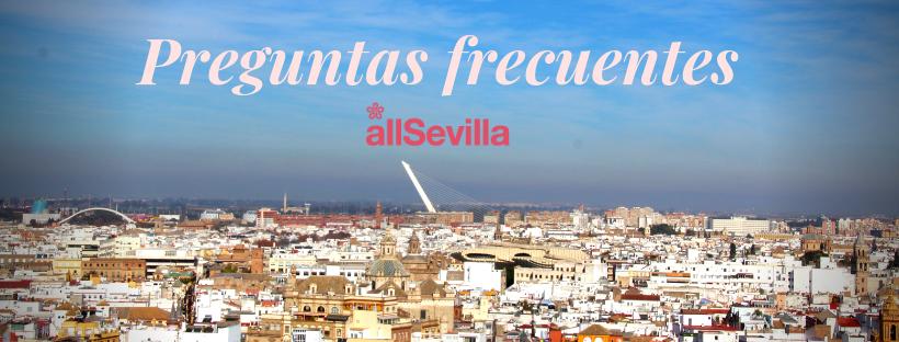 Preguntas frecuentes visita guiada de Sevilla